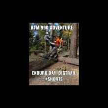 KTM 990 ADVENTURE ENDURO DAY BIGTRAIL #SHORTS